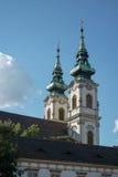 BOEDAPEST, HUNGARY/EUROPE - 21 SEPTEMBER: Szent Anna Templom binnen Royalty-vrije Stock Fotografie