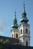 BOEDAPEST, HUNGARY/EUROPE - 21 SEPTEMBER: Szent Anna Templom binnen Stock Foto