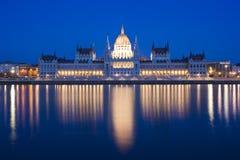 Boedapest, Hungaryan het Parlement, Hongarije stock fotografie