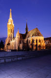 Boedapest Matthias Church stock fotografie
