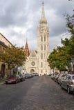 Boedapest. Matthias Church 3 Royalty-vrije Stock Fotografie