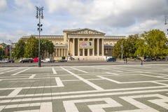 Boedapest. Museum van Beeldende kunsten royalty-vrije stock foto