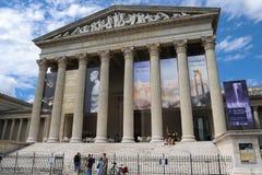 Boedapest, Museum van Beeldende kunsten Stock Afbeelding