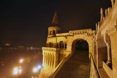 Boedapest - nachtscène Royalty-vrije Stock Afbeelding
