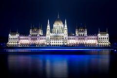 Boedapest Parlament Stock Fotografie