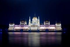 Boedapest Parlament Royalty-vrije Stock Foto