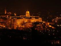 Boedapest 's nachts 1 Stock Fotografie