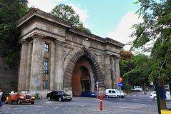 Boedapest tunnel-alagut-graaft een tunnel Stock Fotografie