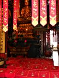 Boeddhisme, betovering, schoonheid en toewijding in China stock foto's