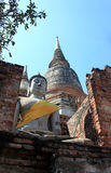 Boeddhisme in Thaise Tempel Royalty-vrije Stock Afbeelding