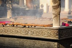 Boeddhismeceremonie Royalty-vrije Stock Afbeelding