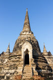 Boeddhismepagode Stock Afbeelding