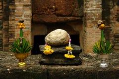 Boeddhistisch Altaar Royalty-vrije Stock Afbeelding