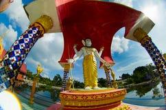 Boeddhistisch beeldhouwwerk Royalty-vrije Stock Fotografie