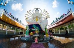 Boeddhistisch beeldhouwwerk Stock Foto