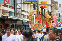 Boeddhistisch Festival stock fotografie