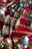 Boeddhistisch gebedwiel Stock Foto's