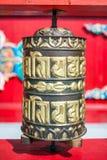 Boeddhistisch gebedwiel, Horde stock afbeeldingen
