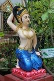 Boeddhistisch geeststandbeeld Stock Afbeeldingen