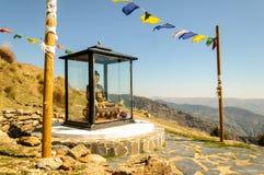 Boeddhistisch heiligdom bij O Sel Ling in Alpujarra, Spanje Royalty-vrije Stock Foto