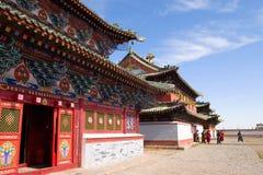 Boeddhistisch klooster Stock Foto