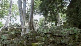 Boeddhistisch klooster, Kambodja royalty-vrije stock afbeelding