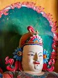 Boeddhistisch kunstwerk in Palcho Monaster - Gyantse, Tibet Royalty-vrije Stock Afbeelding