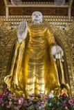 Boeddhistisch oriëntatiepunt van de geschiedenis van Thailand stock afbeeldingen