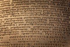 Boeddhistisch scripturesdetail Royalty-vrije Stock Afbeeldingen