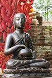 Boeddhistisch Shin Upagutta Statue, Royalty-vrije Stock Foto