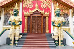 Boeddhistisch standbeeld stock foto