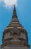 Boeddhistisch standbeeld in pagode Royalty-vrije Stock Fotografie