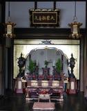 Boeddhistisch symbolenheiligdom stock foto's
