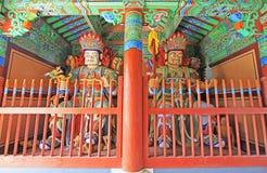 Boeddhistisch Vier Groot Hemels Koningenstandbeeld royalty-vrije stock foto's