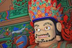 Boeddhistisch Vier Groot Hemels Koningenstandbeeld royalty-vrije stock afbeelding