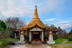 Boeddhistische academie in Birmingham Stock Afbeelding