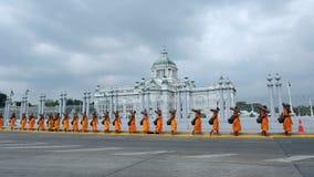 Boeddhistische Bedevaart stock foto