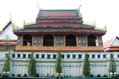 Boeddhistische bibliotheek bij wat sagate Stock Afbeeldingen