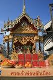 Boeddhistische Chinese tempel, Bangkok, Thailand. Royalty-vrije Stock Foto