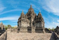 Boeddhistische complex van Sewu van Candi in Java, Indonesië Royalty-vrije Stock Afbeeldingen
