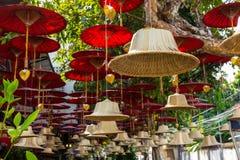 Boeddhistische de kunstdecoratie van de klokkenstraat in Chiang Mai, Thailand Stock Afbeelding