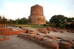 Boeddhistische de kunstmarkt van de weergave in India Royalty-vrije Stock Foto's