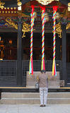Boeddhistische gelovigen royalty-vrije stock foto's