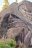 Boeddhistische heilige beeldhouw Stock Afbeelding