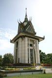 Boeddhistische herdenkingsstupa Stock Foto