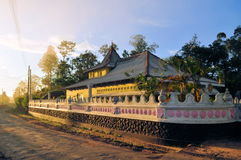Boeddhistische heuveltempel, Sri Lanka Royalty-vrije Stock Afbeelding