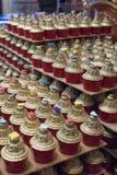 Boeddhistische kaarsen Stock Afbeelding