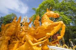 Boeddhistische kaarswas Stock Fotografie