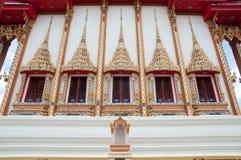Boeddhistische Kerk Stock Afbeelding