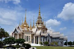 Boeddhistische kerk Royalty-vrije Stock Afbeeldingen